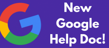 Google Help Doc
