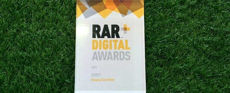 RAR Award image