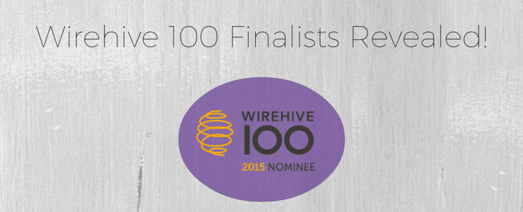 Wirehive 100 Nominee 2015