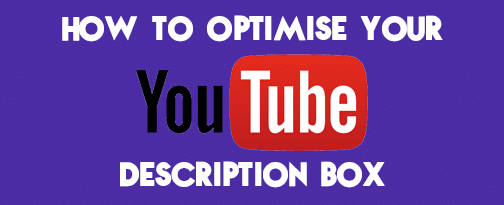 YouTube Description Box