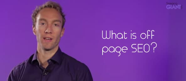 What is off page SEO?