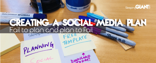 Creating a social media plan for 2018