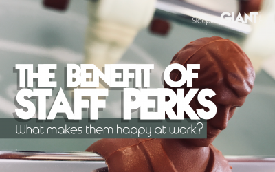 The benefit of providing staff benefits