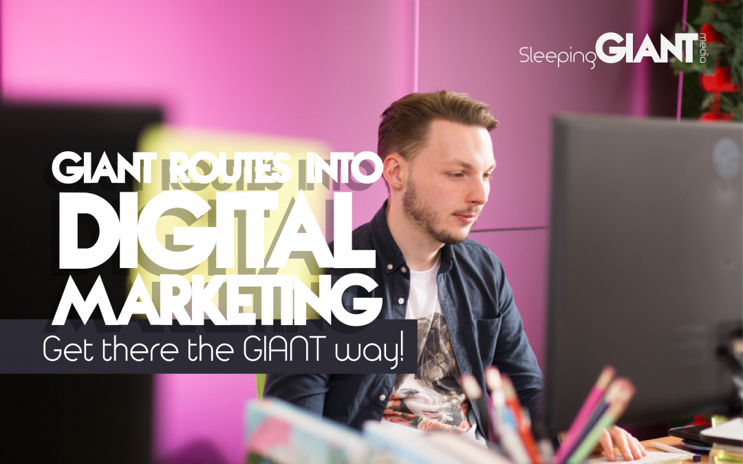 GIANT routes into digital marketing