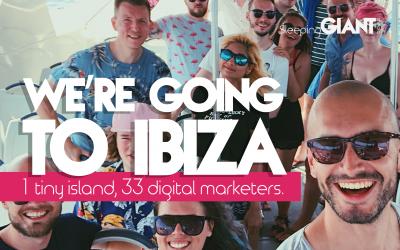 Wooo, we're going to Ibiza!