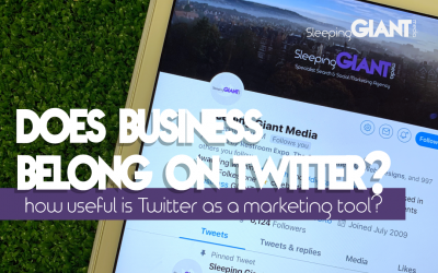 Does business belong on Twitter?