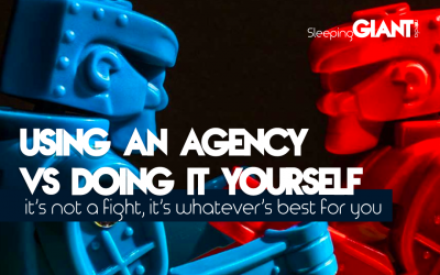 Using an Agency vs DIY