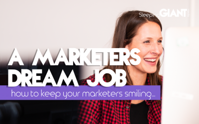 What makes up a marketer's dream job?