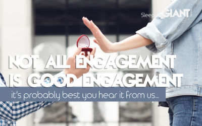 Why not all engagement is good engagement