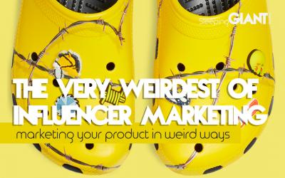 Top 10 weirdest examples of Influencer Marketing