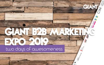 GIANT B2B Marketing Expo 2019