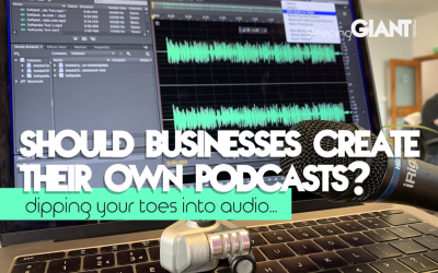 Should businesses create their own podcasts?