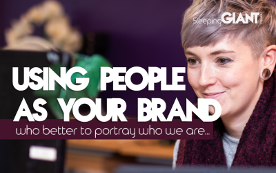 Using people as your brand