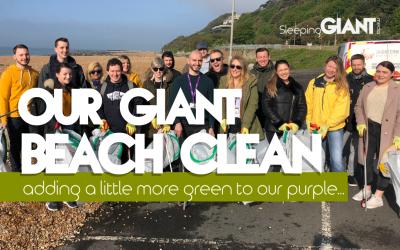 Operation GIANT Beach Clean