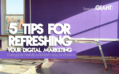 5 Tips For Giving Your Marketing A Refresh
