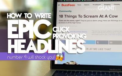 5 of the best, scientifically-easiest ways to write an epic headline: number 4 will SHOCK YOU!!