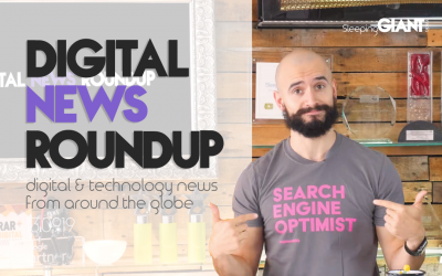 Google Isn't Trusted Anymore, Facebook's Breaching Personal Data & We're at Brighton SEO – Digital News Roundup – 13.09.19