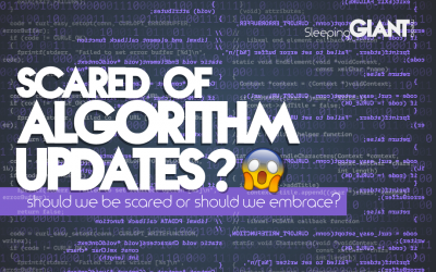 Should We Be Scared Of Algorithm Updates? ????