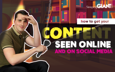 How To Get Your Content Seen Online & On Social Media 🖥