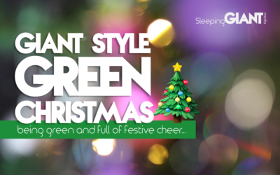 Going Green for Christmas: Giant Style