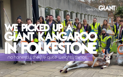 We picked up a GIANT Kangaroo in Folkestone