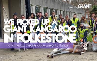 We picked up a GIANT Kangaroo in Folkestone