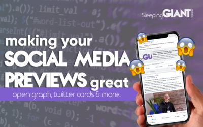 How to make social media previews look great with open graph settings