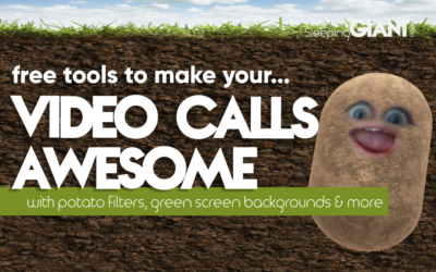Improving Video Calls With Free Filters & Effects For Zoom, Google & Skype