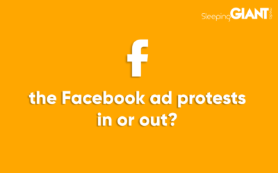 The Facebook Ad Protests – Are You In or Out?
