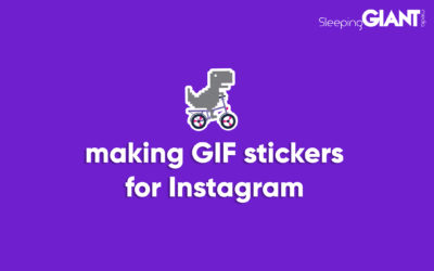 How to make GIF stickers for Instagram Stories, Snapchat & TikTok