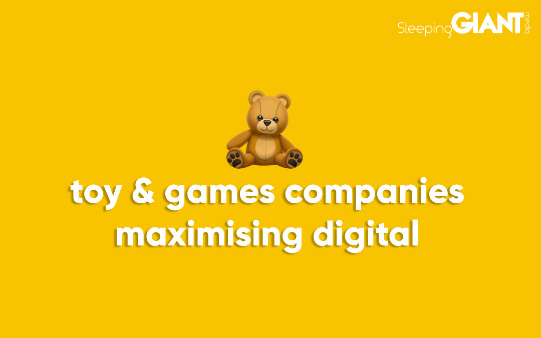 How Toy & Games Companies Can Use Digital Marketing To Advance Their Business