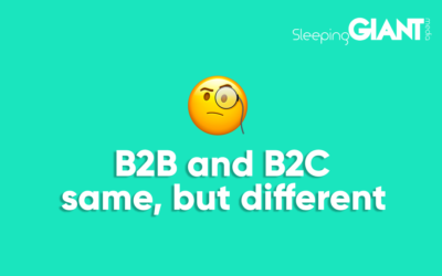 There's Less Difference Between B2B & B2C Marketing Than You Think