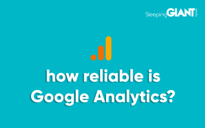 How reliable is the data & insights we can gather from Google Analytics?