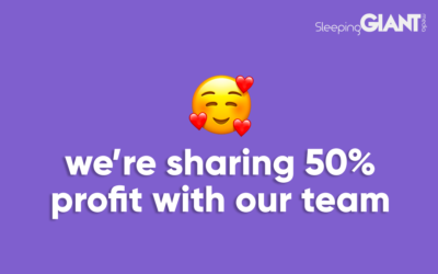 We're Introducing a 50% Profit Share For Our Team