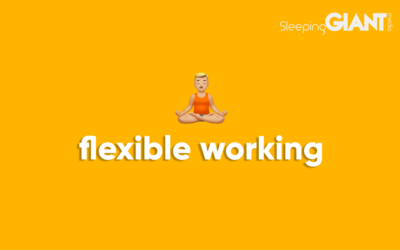 We're implementing flexible working for our agency
