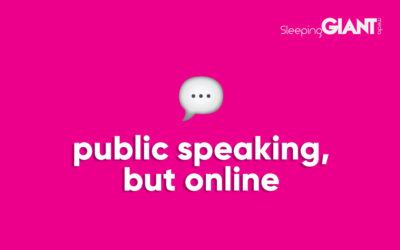 Tips On Improving Your Online Public Speaking & Virtual Delivery Skills