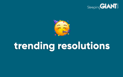 The top trending New Year's Resolutions