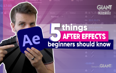 Adobe After Effects For Beginners – 5 Top Tips