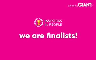 We've Been Named Finalists In the Investors In People Awards 2021