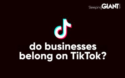 Do Businesses Belong On TikTok?