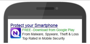 Mobile app PPC advert - use pay per click to promote your ad