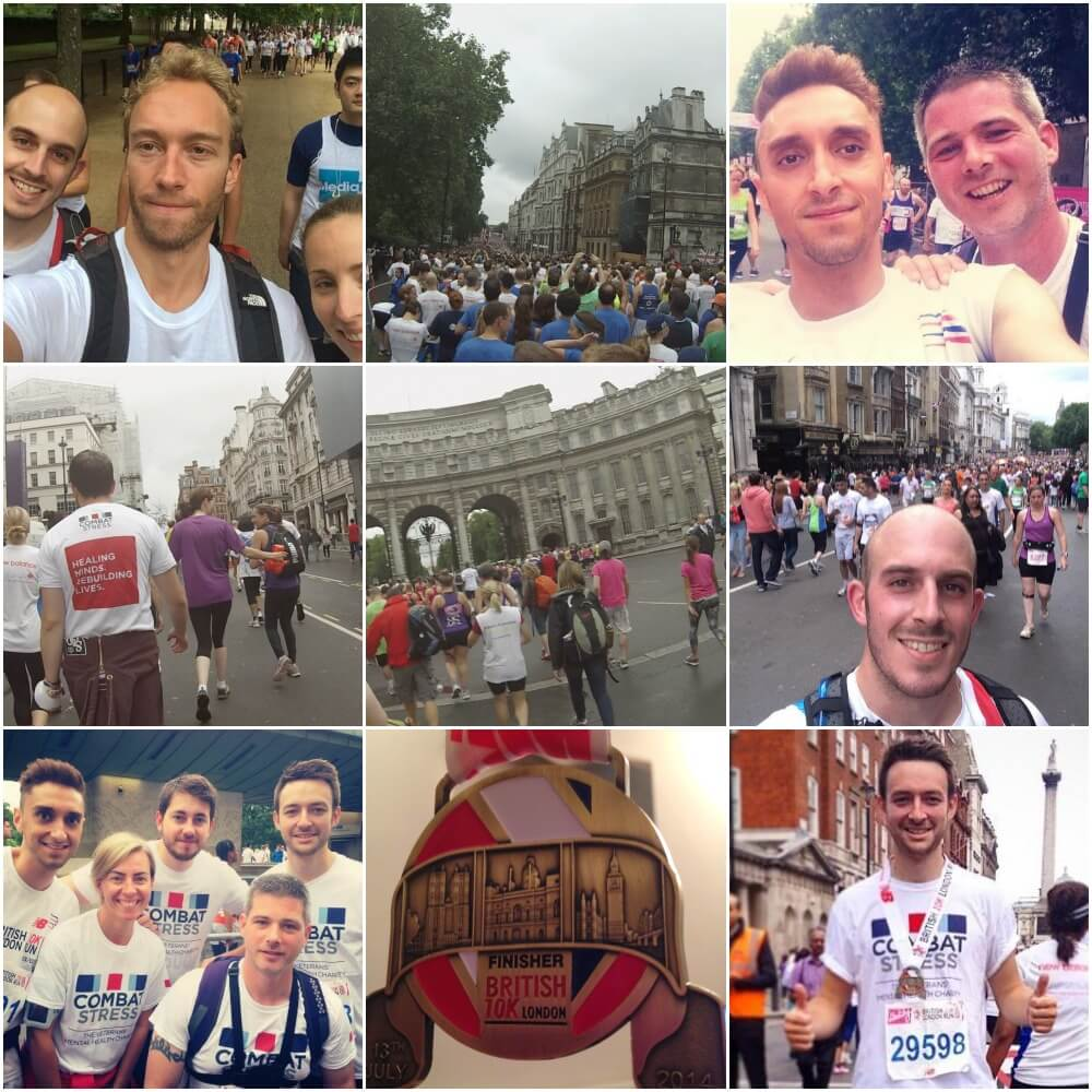 British 10K Collage