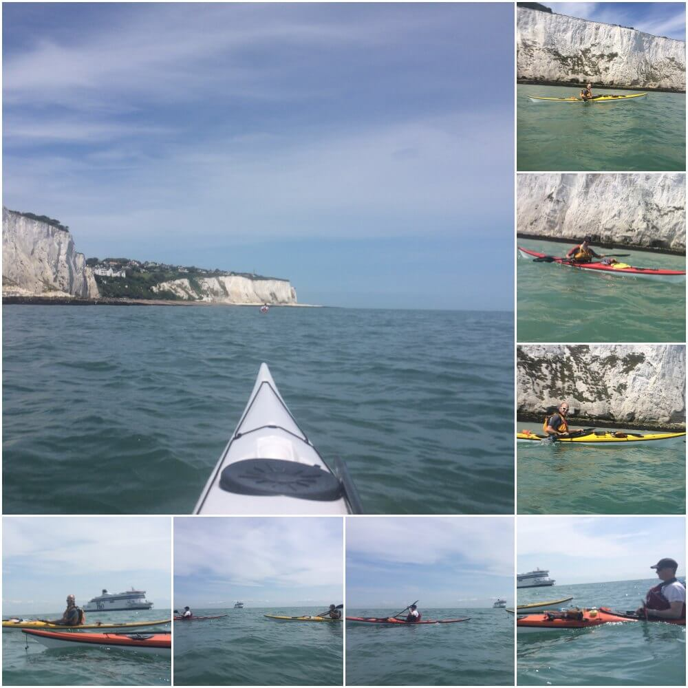 Day 2 kayaking around Dover