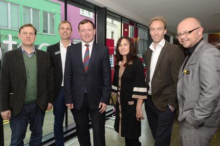 The speaker lineup at Digital in Kent conference Folkestone October 2013