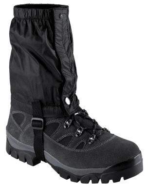 Gaiters. Features vs benefits.