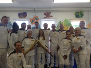 Carrying the torch in Hythe