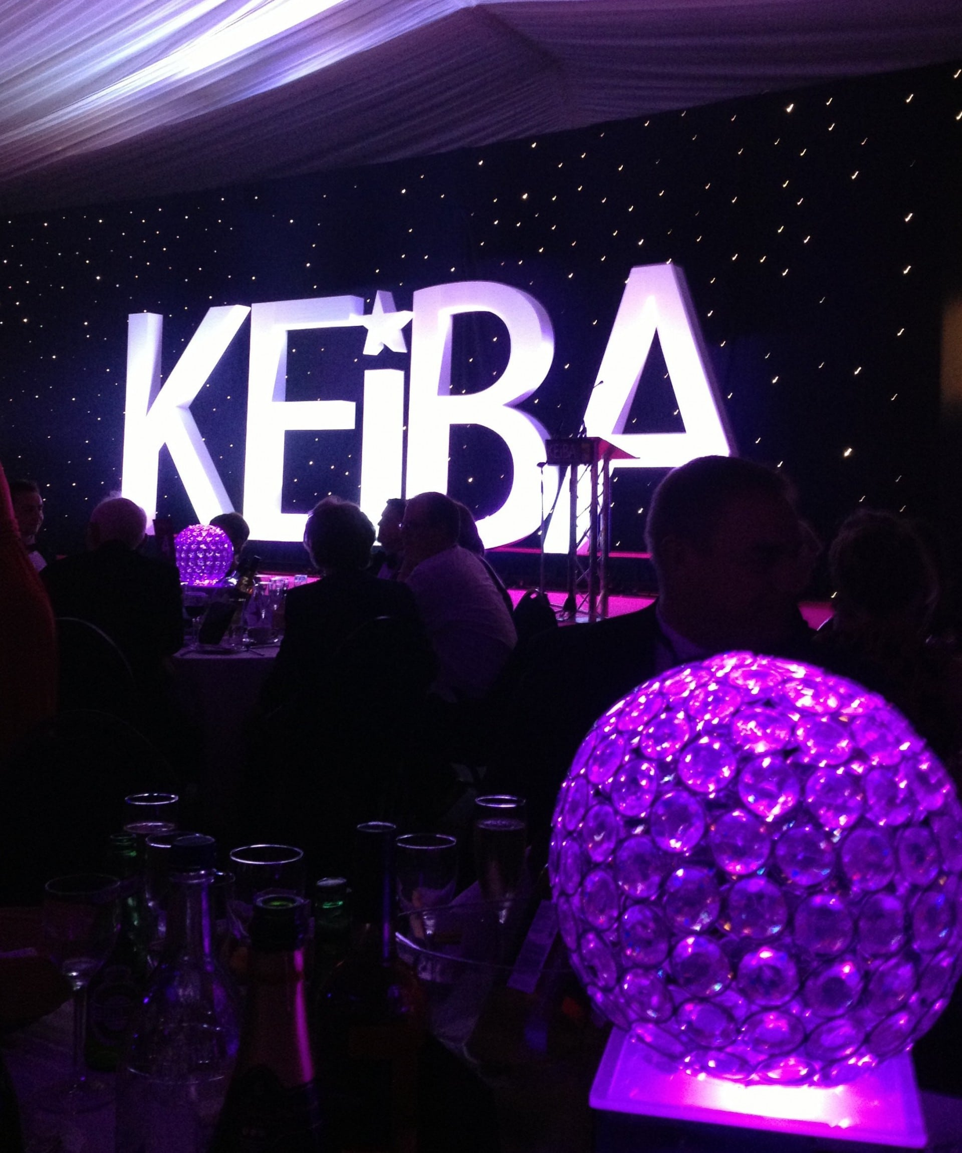 KEiBA 2013 gala night Sleeping Giant Media Finalists 3 awards