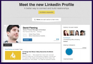 The new LinkedIn profile is coming