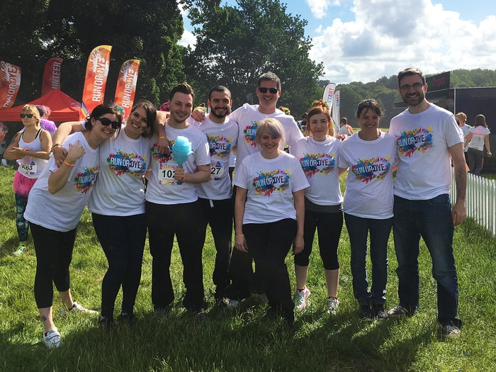 Challenge SGM team before Run or Dye