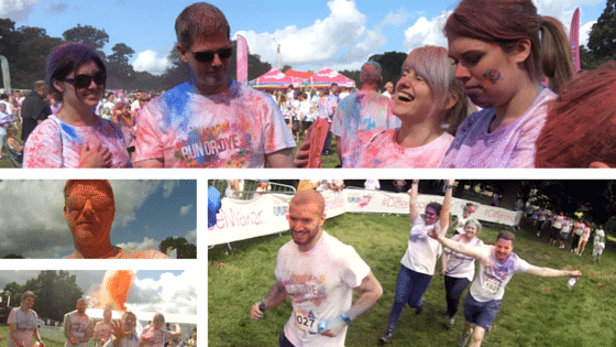 Run or Dye Collage